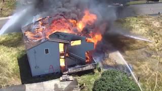 Gambar cover Newport Fire Department Burn-to Learn