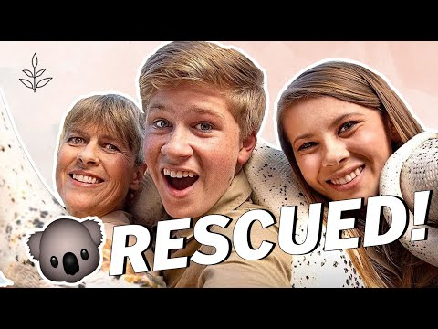 STEVE IRWIN'S Family RESCUES THOUSANDS of Animals From Aussie Fires | Vegan News | LIVEKINDLY