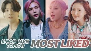 [TOP 100] MOST LIKED K-POP MV OF ALL TIME  • October 2020
