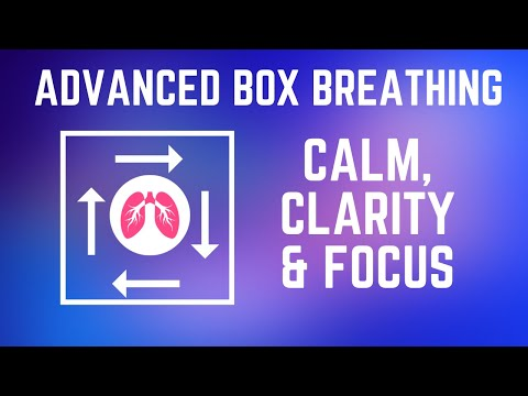 Advanced Box Breathing | Stop Panic Attacks | TAKE A DEEP BREATH | Breathing Exercises | Navy Seal