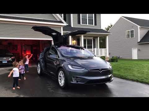 Tesla Model X - Trans-Siberian Orchestra Easter Egg