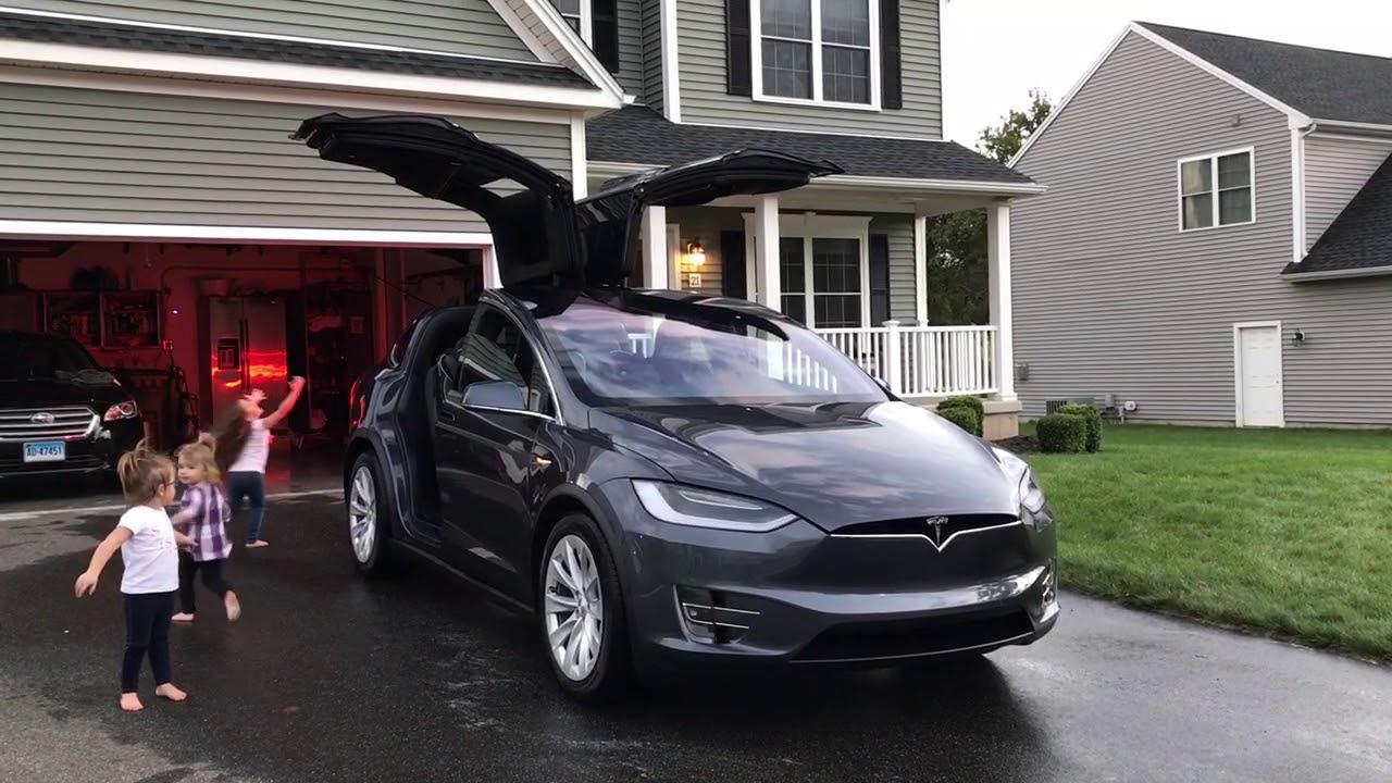 Tesla Model X Trans Siberian Orchestra Easter Egg Youtube