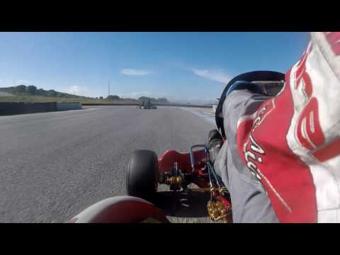 NCK CorkScrew Nationals. Go Kart Race @ Laguna Seca - Race Six 3.25.2017