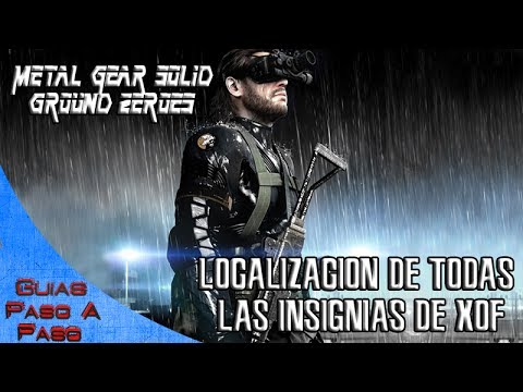 Metal Gear Solid V: Ground Zeroes | Localización de las insignias de XOF