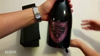 Unboxing Dom Pérignon Brut Rosé Vintage Champagne 2004