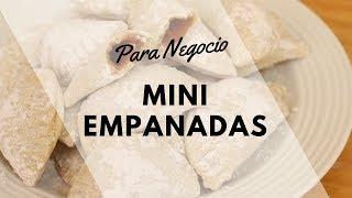 MINI EMPANADAS DE DULCE DE LECHE PARA NEGOCIO