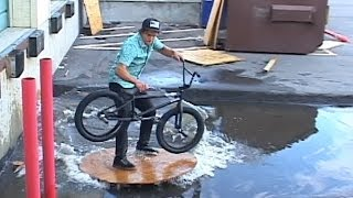 Is This The Most Creative BMX Bike Rider On Earth?