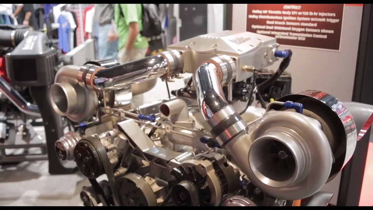 Sema 2013 Banks Power Budget Priced 800 Hp Turbo Engine
