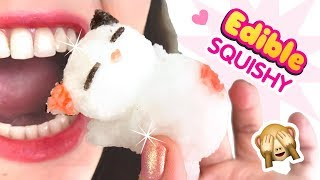 "DIY EDIBLE SQUISHY!! How To Make ""Squishies"" using Popin Cookin Candy Kits!"