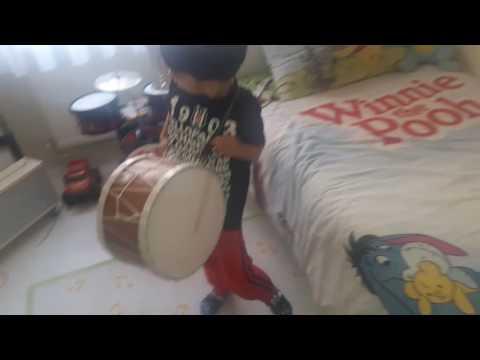 Kücük Davulcu Furkan Efeden lorke lorke vs abim damat oluyor challenge davul show drummer show