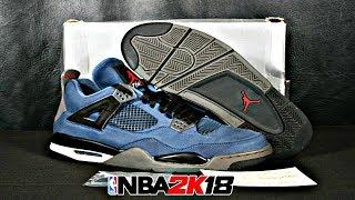 NBA 2K18 Shoe Creator Air Jordan 4