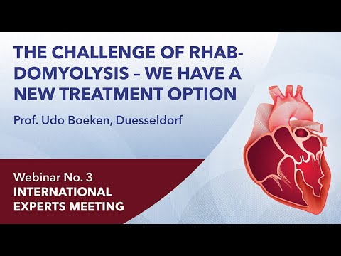 The challenge of rhabdomyolysis – we have a new treatment option | Udo Boeken | Webinar 3