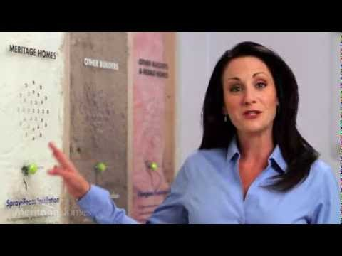 Spray-Foam Insulation | Meritage Homes - YouTube