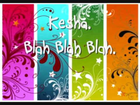 Blah Blah Blah  Kesha download link