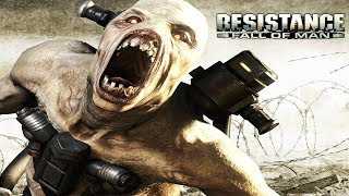 Resistance: Fall of Man All Cutscenes (Game Movie) Full Story PS3 HD