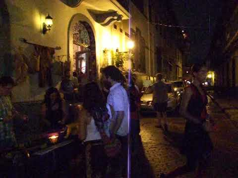 A Night in Panama Old Town