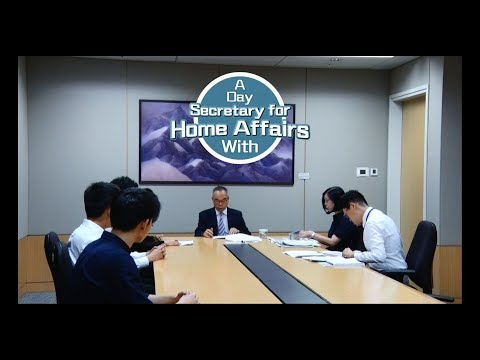 A Day with the Secretary for Home Affairs thumbnail