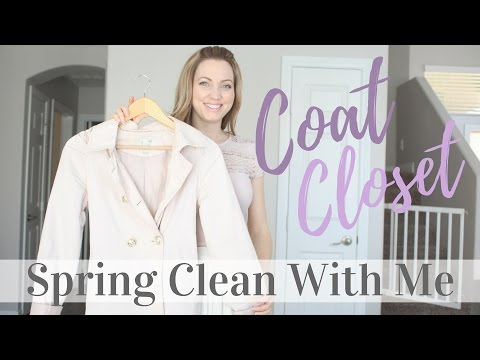 Spring Clean With Me | Coat Closet