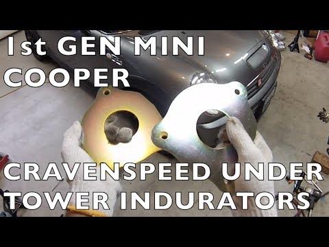 MINI Cooper Fix Mushroomed Strut Towers  20022006 1st Gen