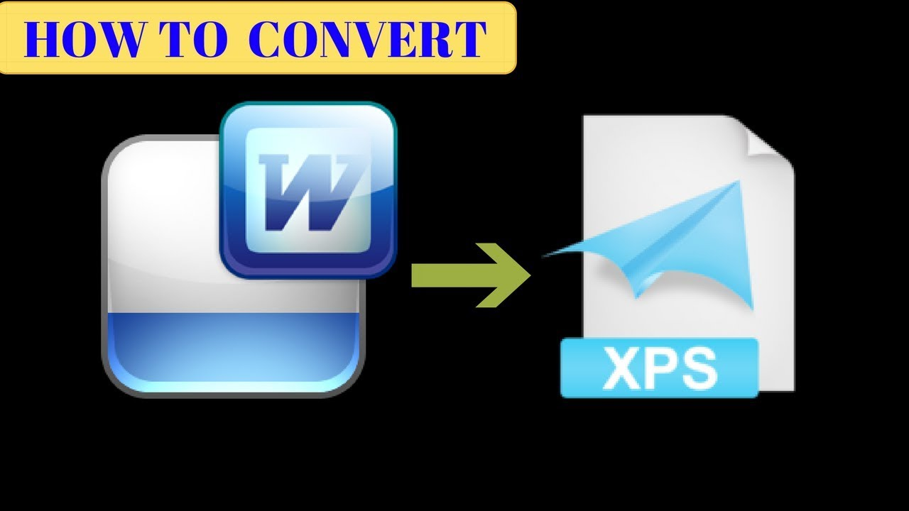 How to convert word document to xps? - YouTube