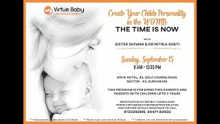 خلق شخصية طفلك مع BK الأخت شيفانى والدكتور Nitika Sobti (15 سبتمبر 2019)