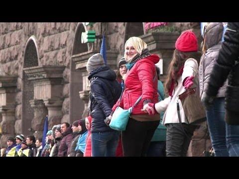 Pro-Yanukovych protest in Kiev
