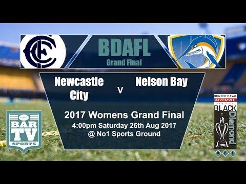 2017 BDAFL GE Women's Grand Final - Newcastle City Blues v Nelson Bay Marlins