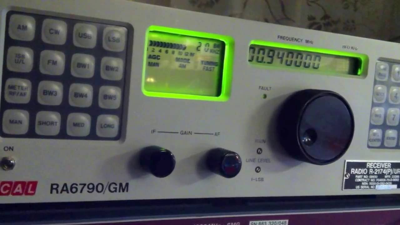 Racal RA-6790 H.F. Receiver