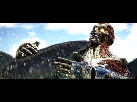 ��嚎】无敌巨鲨大战进击的巨人,最终�能获胜?