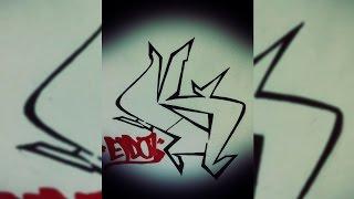 Graffiti Tutorial: Draw Letter K In Graffiti Step By Step