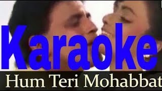 Hum Teri Mohabbat Mein Karaoke - Phool Aur Angaar ( 1993 ) Kumar Sanu & Sadhana Sargam