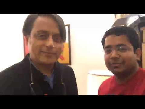 Dr. Shashi Tharoor (Live session) - Why studying History is important for everyone - Unacademy