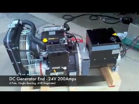 Diesel DC Generator