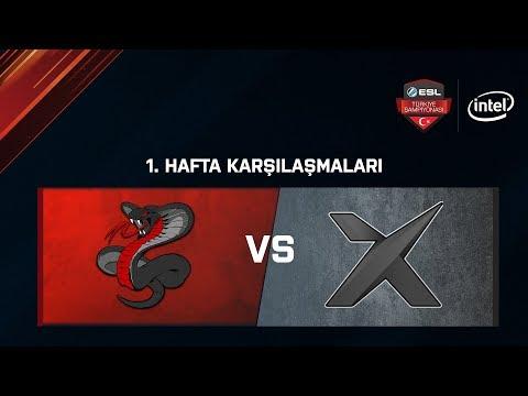 Sons of Snakes vs. X'it   BO1   ESL Türkiye Şampiyonası Lig - 1.Hafta