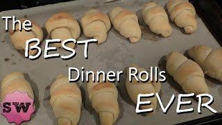The BEST Thanksgiving (or Christmas) Dinner Rolls EVER!