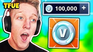 TFUE GETS 100K V-BUCKS OFFERED FOR FREE | Fortnite Daily Funny Moments Ep.207