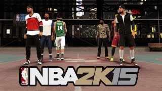 NBA 2k15 The Stage 3vs3 Gameplay - QJB 1st Experience/AMAZING Alley Oops w/GNATION