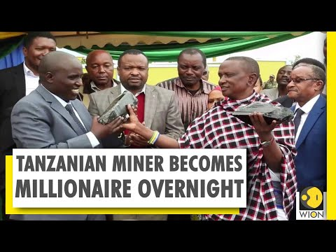 Small-scale Tanzanian miner becomes millionaire overnight | World News | WION