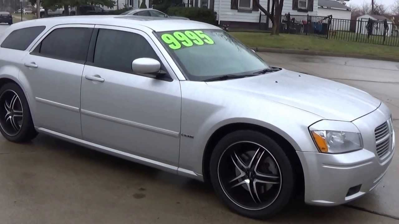"""2006 dodge magnum r/t awd with a hemi """"sold"""" - youtube"""