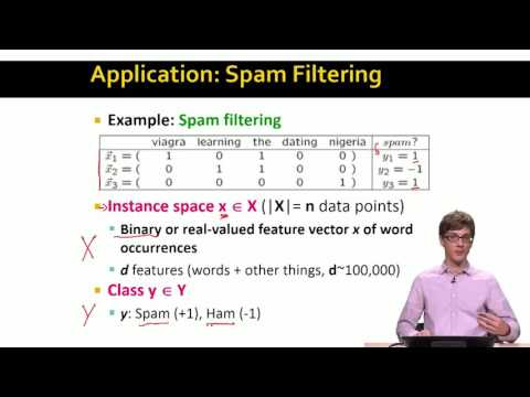 Lecture 67 — Support Vector Machines - Introduction | Stanford University