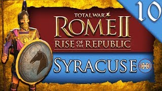 REUPLOAD WAR WITH TARAS Total War ROME II Rise of the Republic Syracuse C aign Gameplay 10