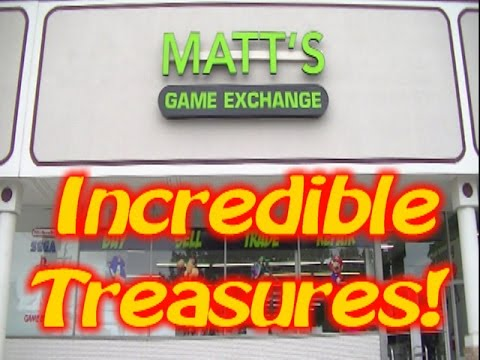 Treasures At Matts Game Exchange In Greensboro Nc