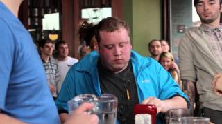 Hopcat's Crack Fry Eating Contest 2013