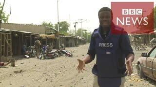 【BBC】 ボコ・ハラムが残す虐殺の跡 にぎやかだった町が