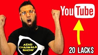 20 LAKH RUPEES A MONTH from YouTube with Proof Pakistan | URDU/HINDI | Azad Chaiwala Business Videos
