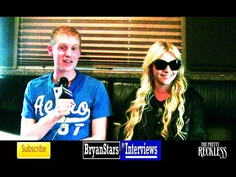 The Pretty Reckless Interview Taylor Momsen Marilyn Manson Tour 2013