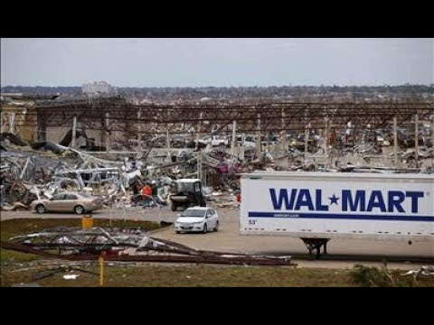 Walmart Gets Destroyed by a Tornado in Warner Robins Georgia!!!!!