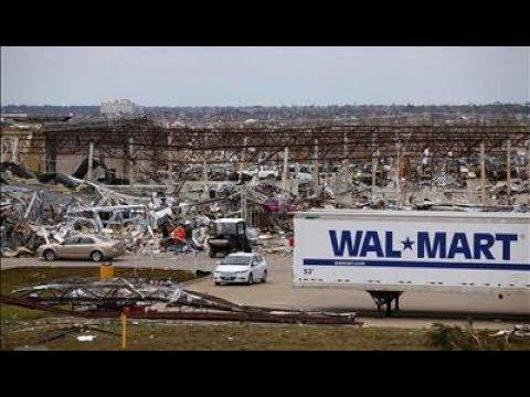 Walmart Gets Destroyed by a Tornado in Warner Robins Georgia