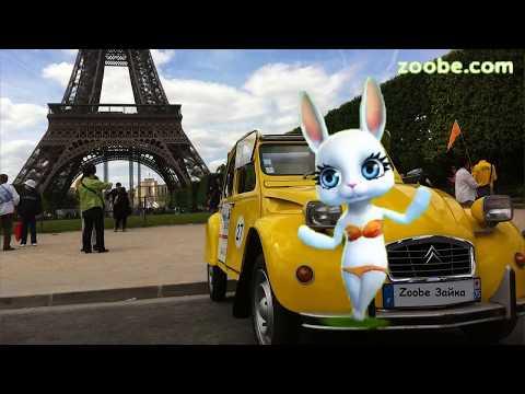 Zoobe Зайка Это не шутки (France) :-) - Как поздравить с Днем Рождения