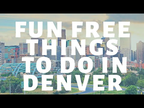 Fun Free Things To Do In Denver